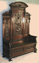 Probably The Most Easily Recognized Piece Of Jacobean Revival Furniture Was  The Whatnot. Spindles Supported Its Several Shelves.