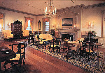 Room at Winterthur Museum and Gardens in Wilmington, Delaware.